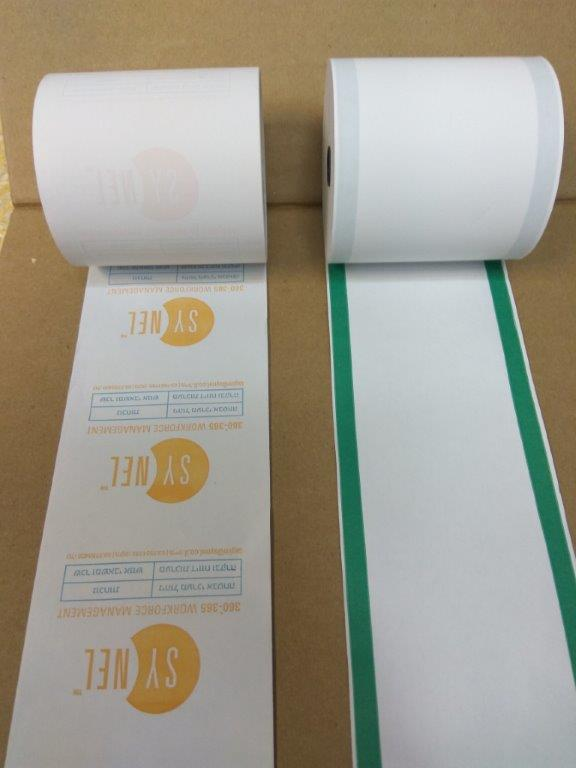 סליל גליל נייר תרמי- דוגמא סינאל